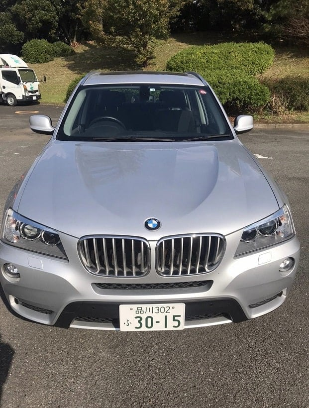 2012 BMW X3 for sale front picture.
