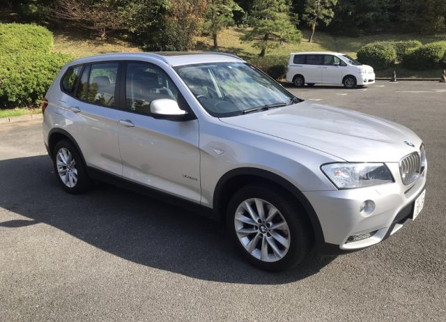 2012 BMW X3 for sale in Tokyo picture.