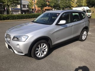 BMW X3 for sale in Tokyo picture.