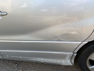 Left side scratches