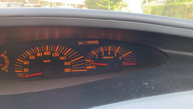 2003 Speedometer reading picture
