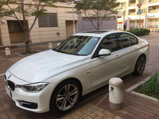2012 BMW 328 Sports passenger side view