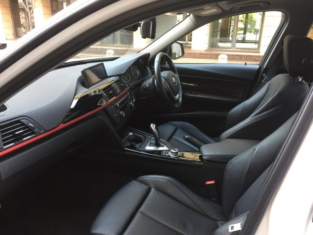 Front Seat Area Picture