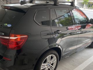 Rear Right Hand Side picture of the 2017 BMW X3