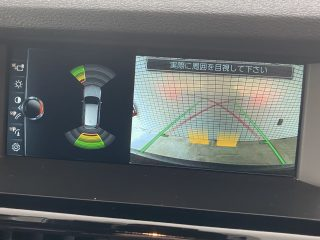 Rear Parking camera and sensors picture