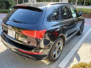 Rear picture of 2017 Audi Q5 SLine package