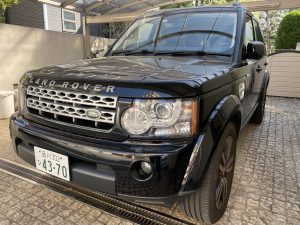 Land Rover Discovery 4 front left image.