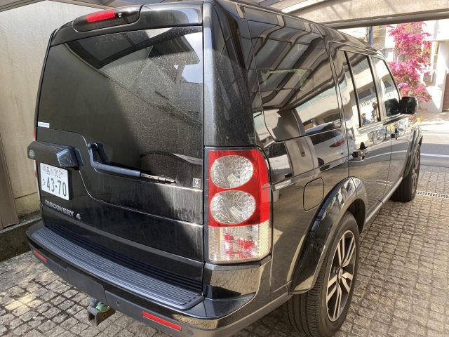 2011 Land Rover Discovery 4 rear right image.
