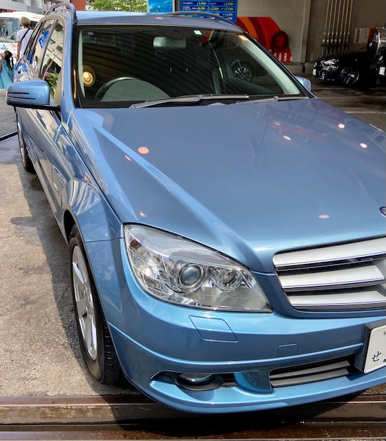 2010 Mercedes Benz C200 front right image