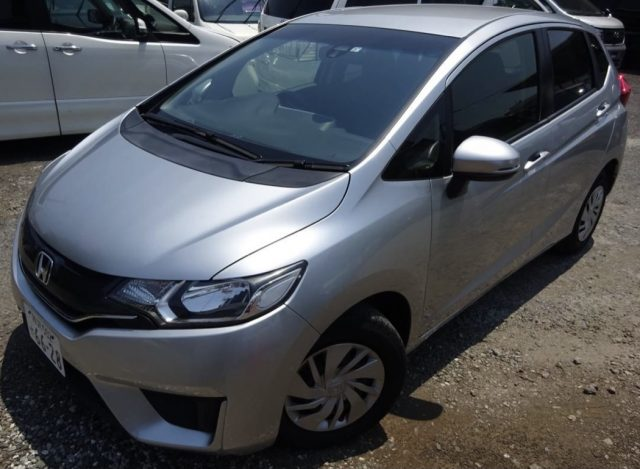 2014 Honda Fit for sale in Tokyo japan by Mick Lay - front left image of the car