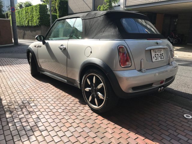 2009 BMW Mini Cooper S rear right image - roof up
